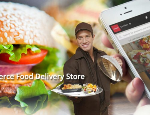 E-Commerce Food Delivery Store