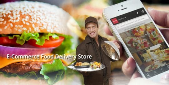 food delivery banner