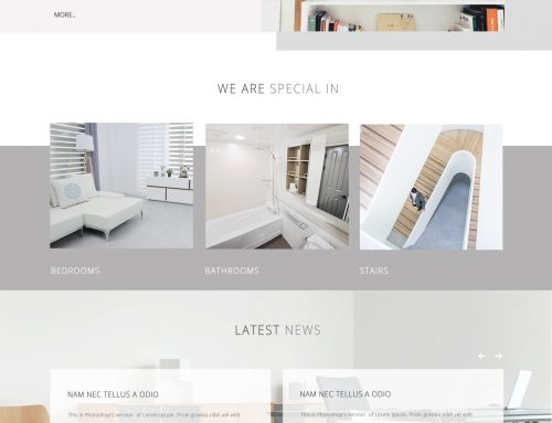 Interior Website Designs #1