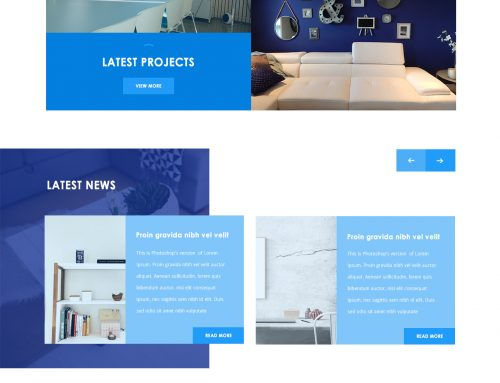 Interior Website Designs #2