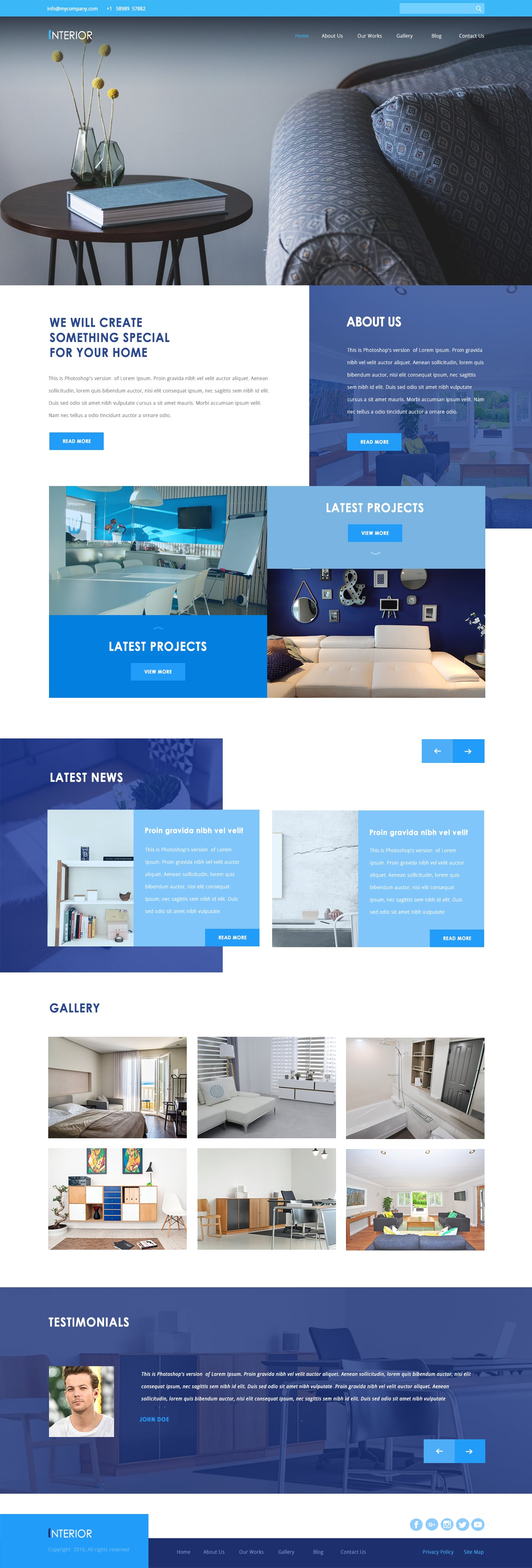 interior designing template