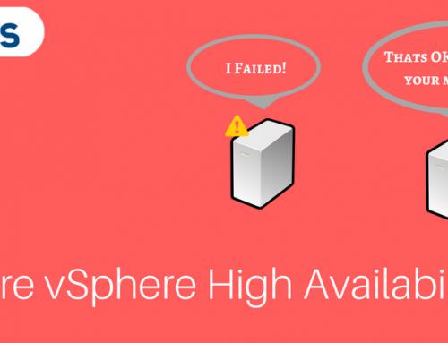VMware vSphere High Availability