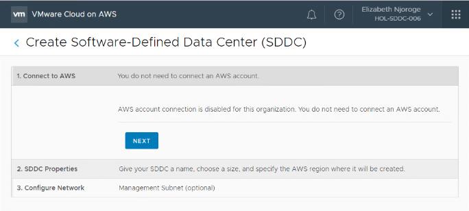 Connecting to AWS Account