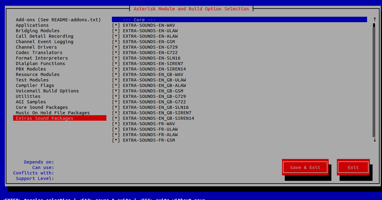 Installing Asterisk PBX 13 on CentOS - Xieles Support