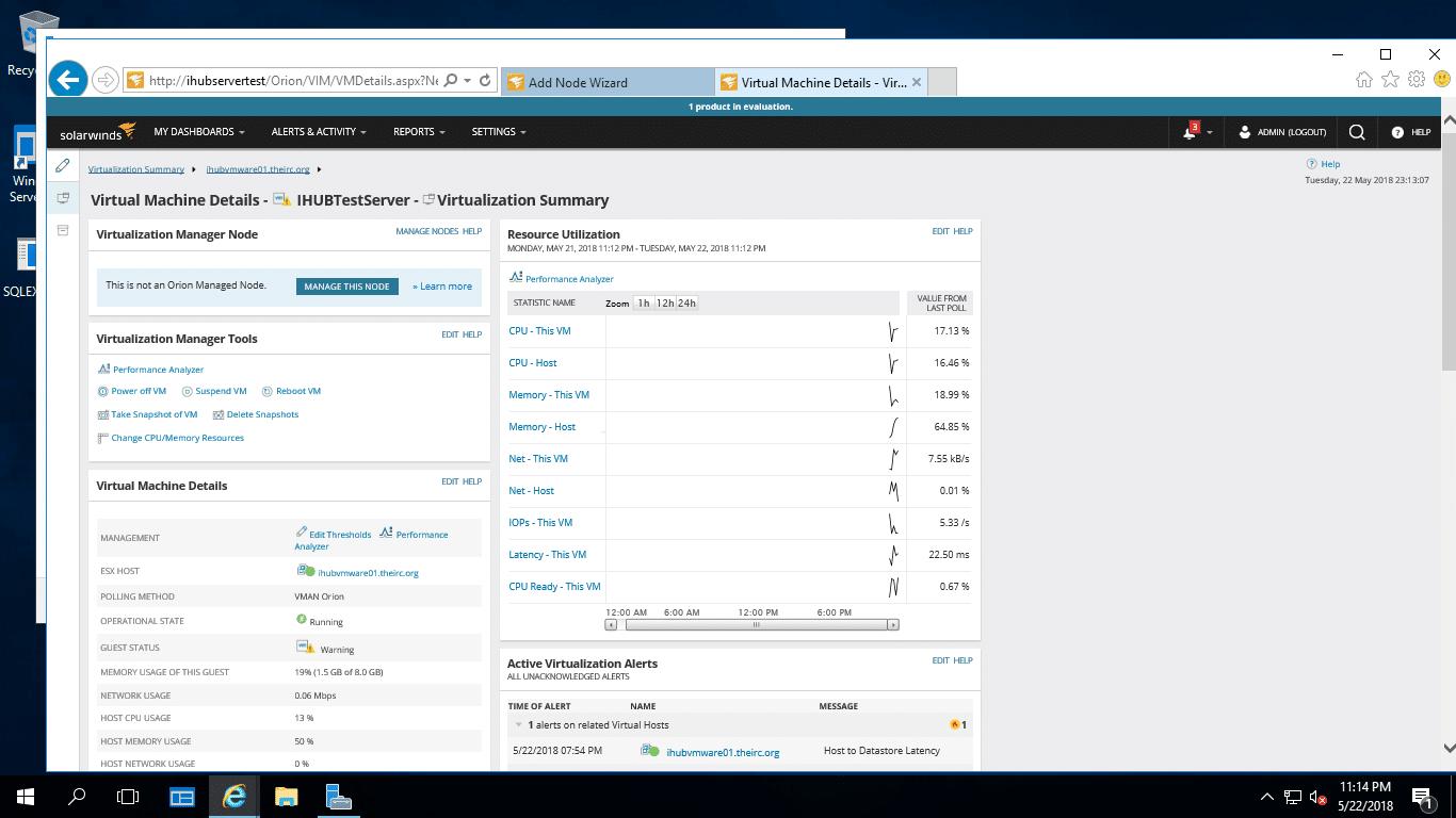 Guest VM details
