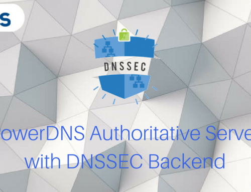 PowerDNS Authoritative Server with DNSSEC