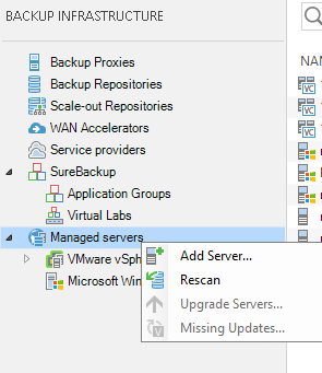 Add VMware infrastructure