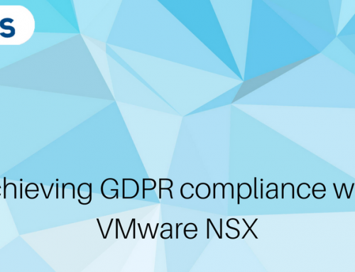 Achieving GDPR compliance with VMware NSX