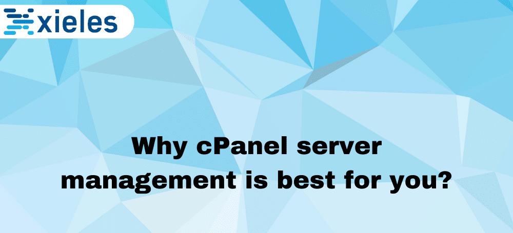 cpanel server management